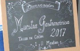 MUESTRA GASTRONÓMICA 2017
